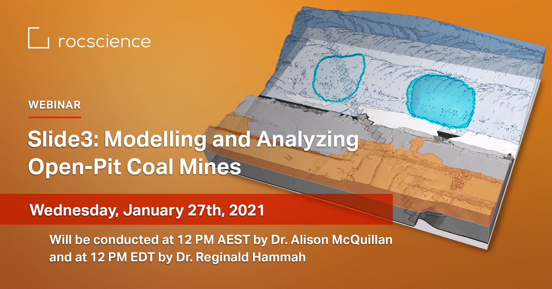Rocscience Webinar: Slide3 - Modelling and Analyzing Open-pit Mines