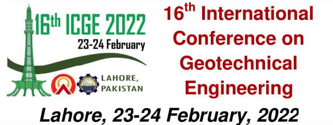 16th International Conference on Geotechnical Engineering,