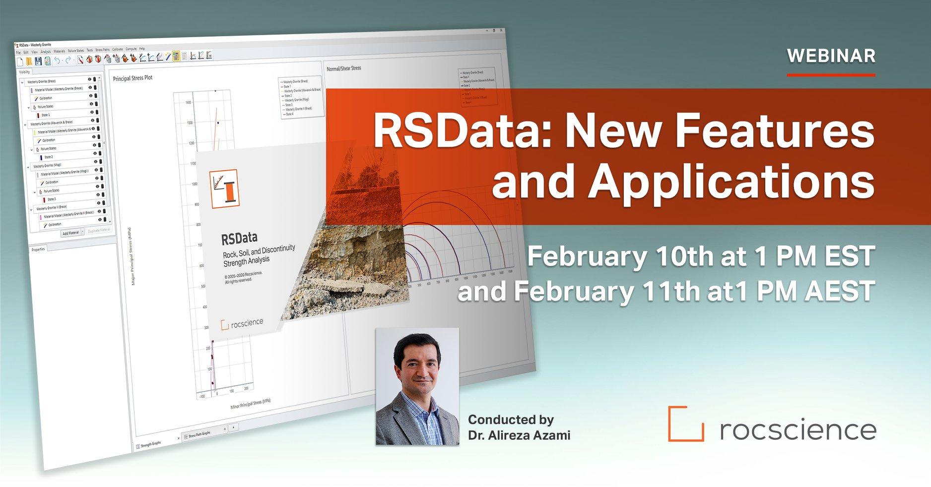 Rocscience Webinar: RSData - New Features & Applications