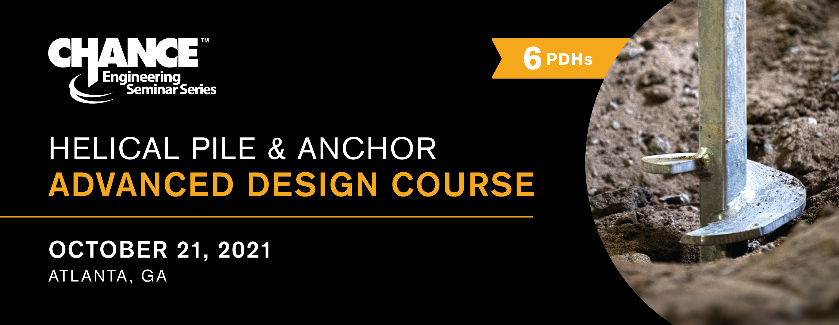 Helical Pile & Anchors Advanced Design Course