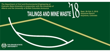 Tailings and Mine Waste '18