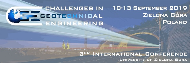 """Third International Conference """"Challenges in Geotechnical Engineering"""" CGE-2019"""