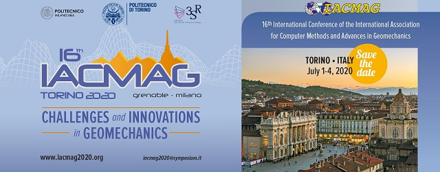 16th International Conference of the International Association for Computer Methods and Advances in Geomechanics - IACMAG