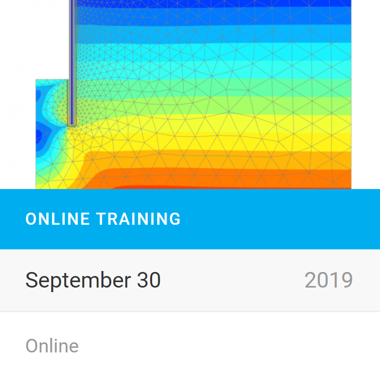 PLAXIS Online Training: Groundwater, dewatering and convergence issues