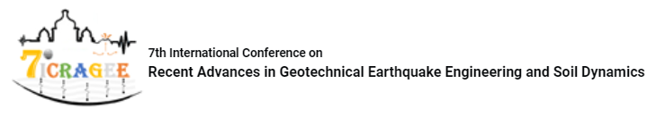 7th International Conference on Recent Advances in Geotechnical Earthquake Engineering and Soil Dynamics (7ICRAGEE)