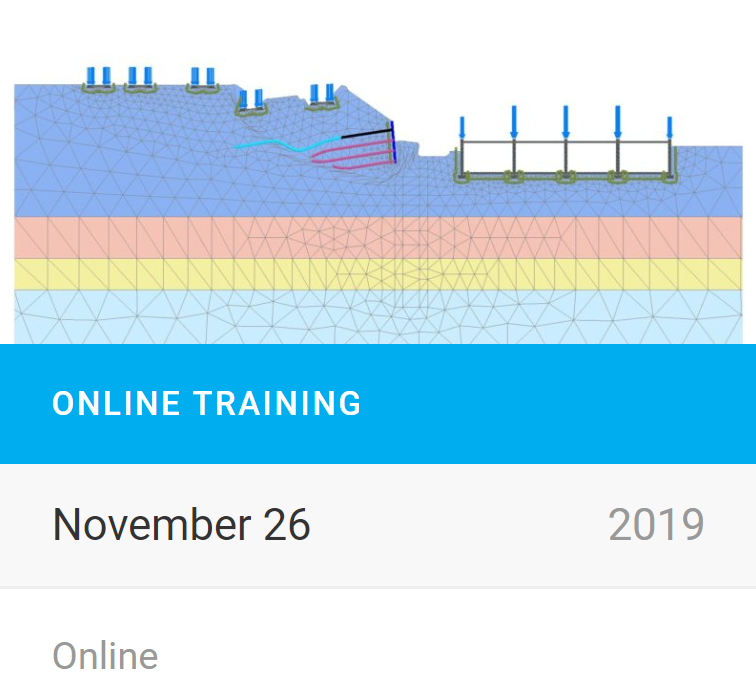 PLAXIS Online Training: PLAXIS 2D for stability assessment of a slope strengthening close to existing railway tracks
