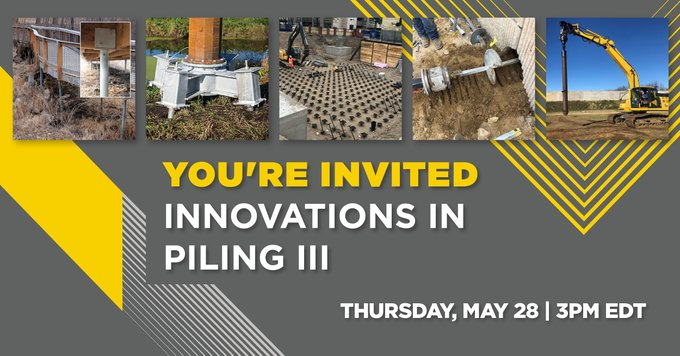 Innovations in Piling III