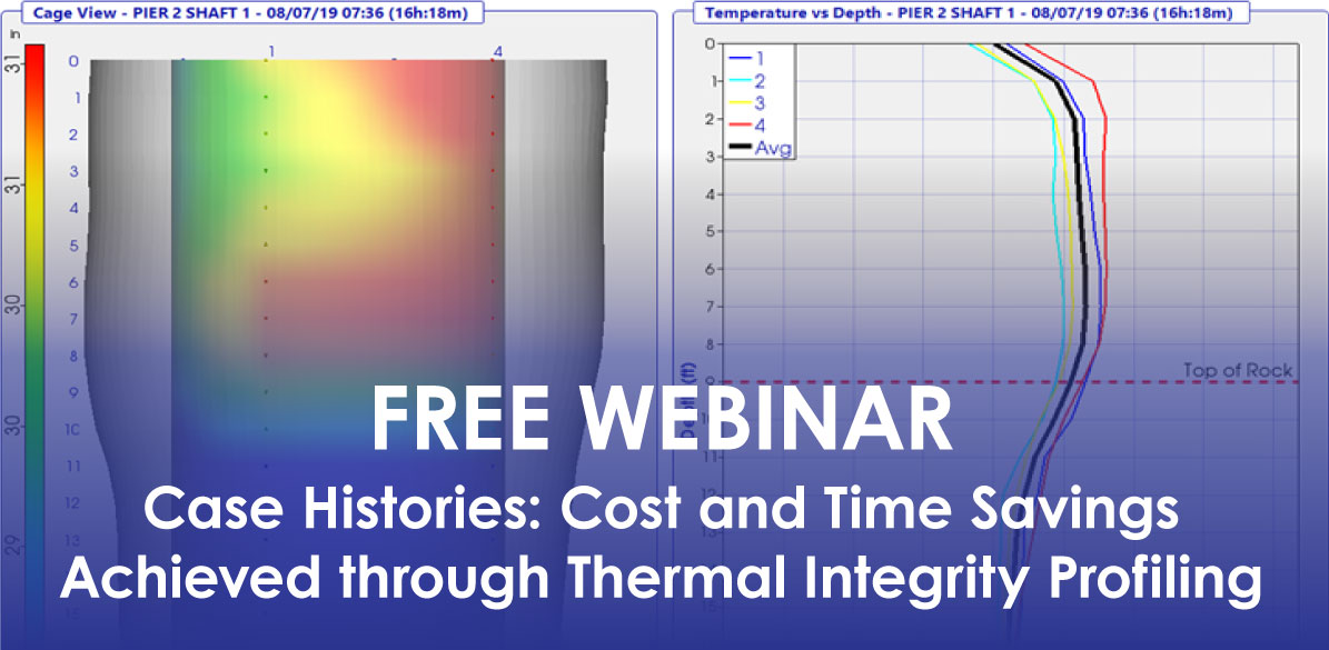 Case Histories: Cost and Time Savings Achieved through Thermal Integrity Profiling