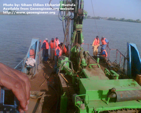 Title: Offshore drilling No.1<br>Title: Offshore drilling shendi matamma bridge