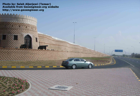 Title: Al Mawaleh Highway Bridge Abutment and Embankment in Muscat, Oman<br>Title: Al Mawaleh Highway Bridge Abutment and Embankment in Muscat, Oman, 2005
