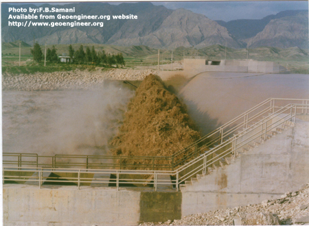 Title: Shohada diversion Dam, Photo No.1<br>Title: Shohada diversion Dam, Sout West of Iran, close to Behbahan Town. Photo.1