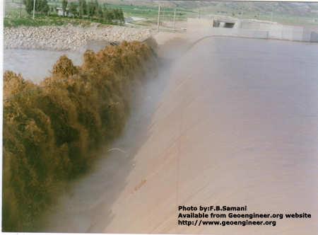 Title: Shohada diversion Dam, Photo No.2<br>Title: Shohada diversion Dam, Sout West of Iran, close to Behbahan Town. Photo.2