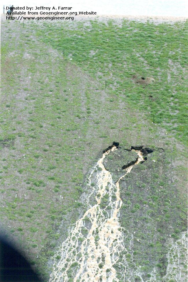 Title: Close view of Dam Failure<br>Title: Close view of Dam Failure Donated by: Jeffrey A. Farrar Date: 2005