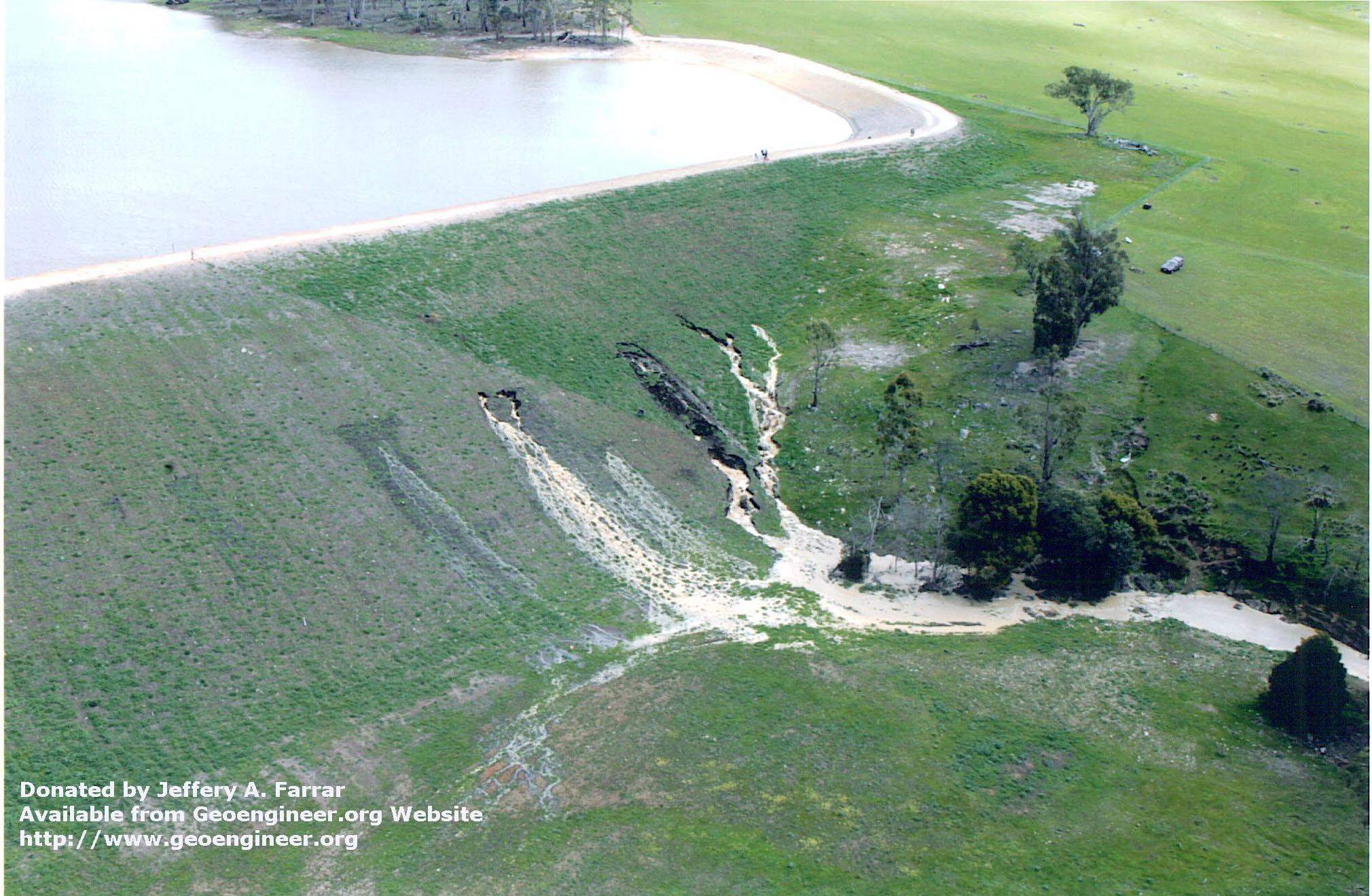 Title: View of Damage<br>Title: View of Damage Donated by: Jeffrey A. Farrar Date: 2005