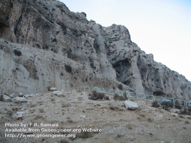 Title: closer view of Dasht-e- Arjan fault plane<br>Title: closer view of Dasht-e- Arjan fault plane