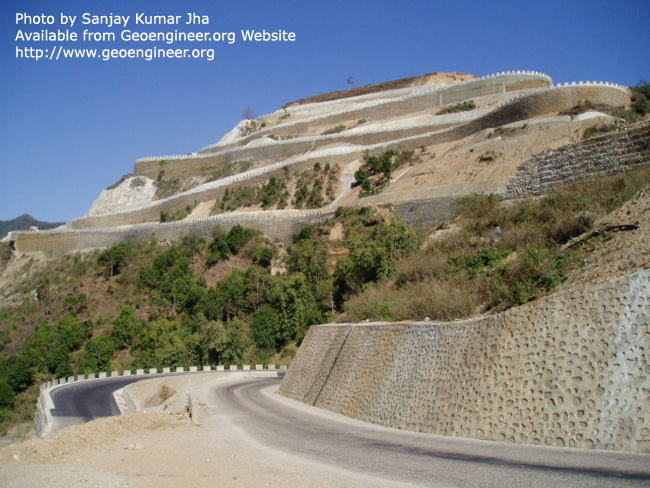 Title: Slope Stabilization<br>Title: Slope Stabilization
