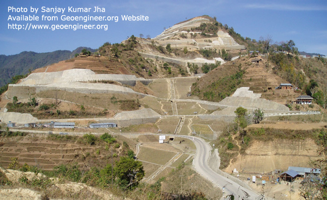 Title: Hill road alignment<br>Title: Hill road alignment
