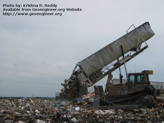 Title: Landfill Filling Phase<br>Title: Landfill Filling Phase