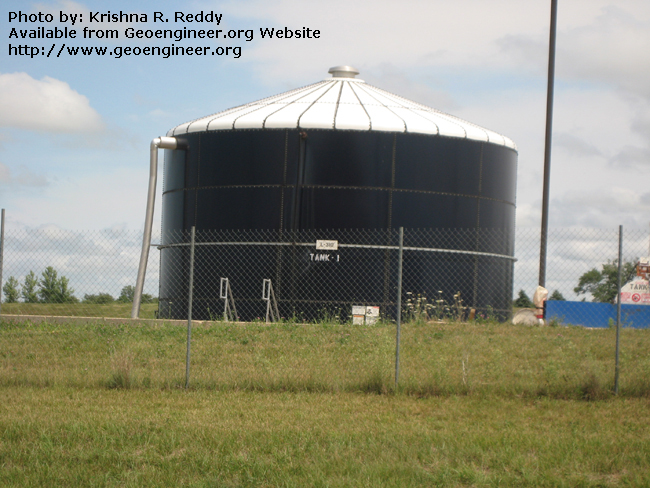Title: Landfill Leachate Storage Tank<br>Title: Landfill Leachate Storage Tank
