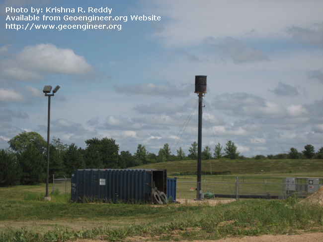 Title: Landfill Gas Flaring System<br>Title: Landfill Gas Flaring System