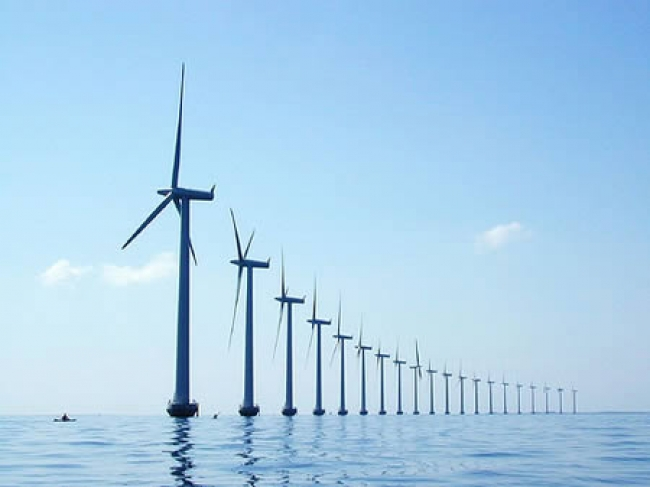 First US offshore wind farm under construction!