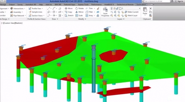 Keynetix leads significant BIM for the subsurface Project