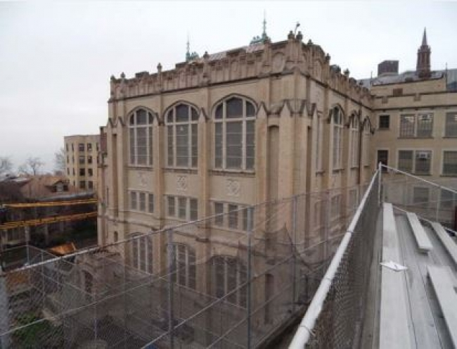 Curtis High School Addition and Renovation Project, a project milestone.