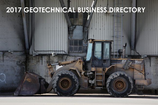 Join the 2017 Geotechnical Business Directory today!