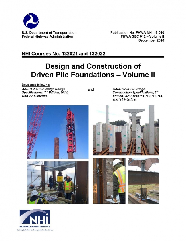 Geotechnical Engineering Circular No  12 - Design and