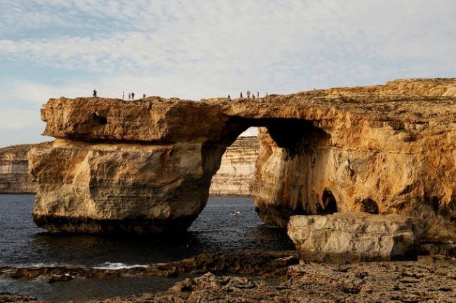 Malta's Azure Window collapses after storm