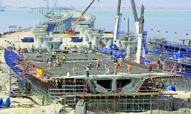 bn Kuwait causeway project on track for launch in 2018