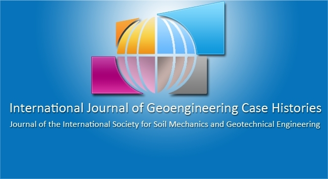 The ISSMGE International Journal of Geoengineering Case Histories launched its new Website!