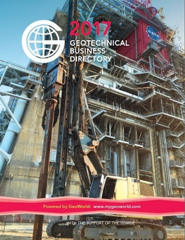 Announcing the Publication of the  2017 Geotechnical Business Directory