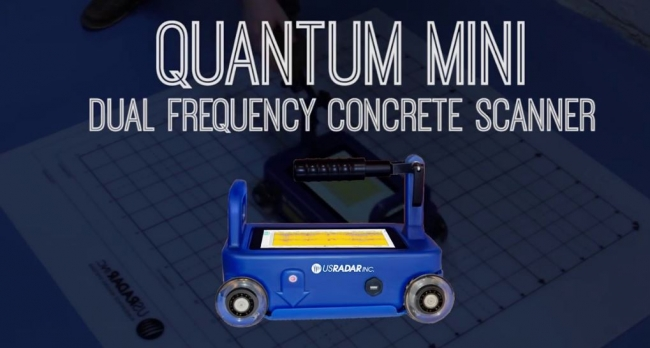 Humboldt represents the Quantum Mini Dual Frequency Concrete Scanner