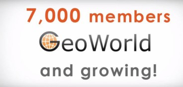 GeoWorld reached 7,000 registered members!
