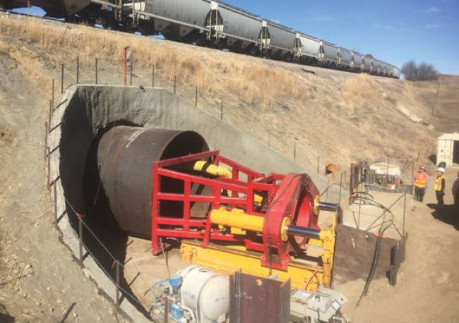 Tunnel constructed to connect trail system in Colorado, US
