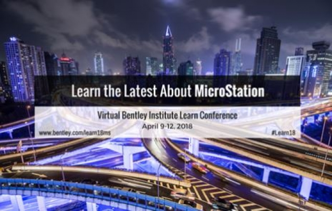 Join Microstation Virtual Conference