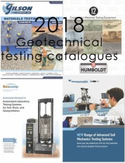 2018 Geotechnical Testing Catalogues