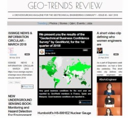 """Geo-Trends Review"" third issue is here!"