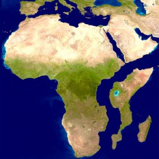 Africa splitting in two