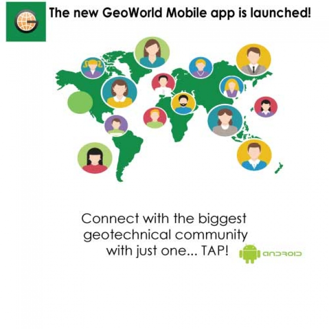 GeoWorld mobile app for ANDROID is launched
