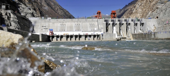 Co-seismic landslides threaten the development of hydropower plants in Nepal