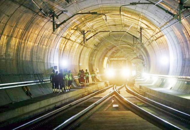 India's first railway station inside a tunnel