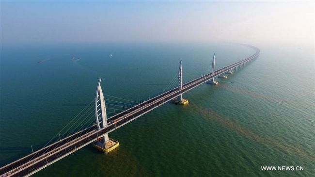 World's longest bridge located in China
