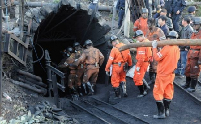 Chinese coal mine accident