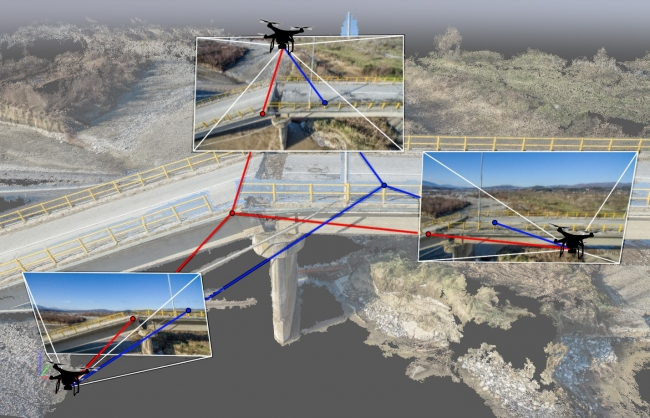 Unmanned Aerial Vehicles create 3D models of Geotechnical Projects