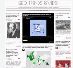 """Geo-Trends Review"" fifth issue is published!"