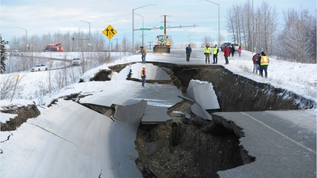 Magnitude 7.0 Earthquake in Alaska