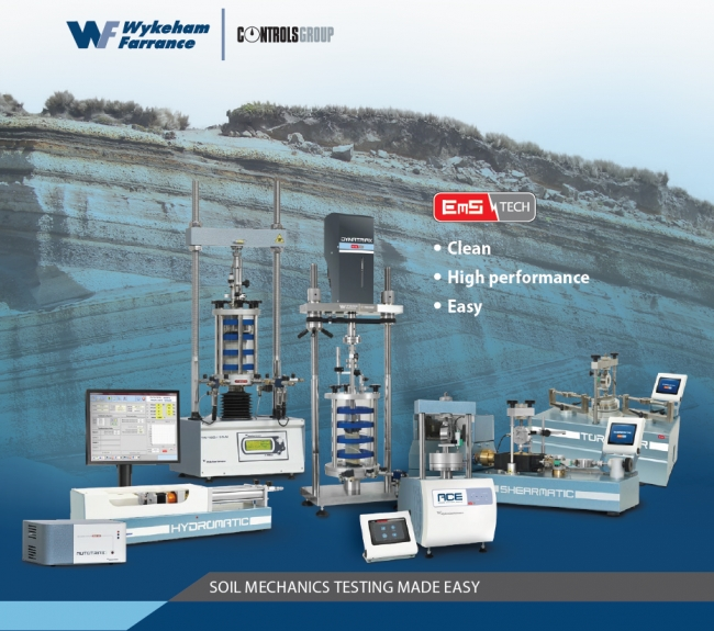 Wykeham Farrance launched the EmS product range