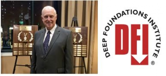 Garland Likins Receives DFI Distinguished Service Award 2018
